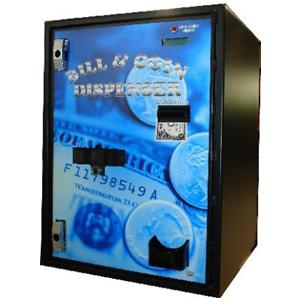 AC7702 Front Load Bill-Coin Dispenser