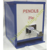 Coin Operated Manual Pencil Vending Dispenser