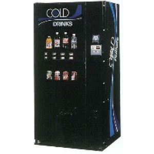 Dixie Narco 501-8 E Live Display Cans & Bottles Vending Machines