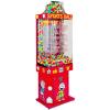 Sports Ball-Gumball Falls Kinetic Vending Machine
