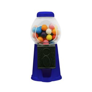 "6"" Plastic Gumball - Candy & Gumball Bulk Dispenser"