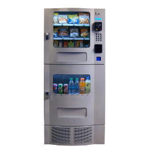 Seaga OVM 7 Beverage-16 Snack Silver Combination