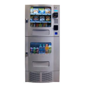 Seaga OVM 7 Beverage-16 Snack Silver Combination