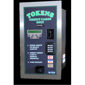 AC2007 Rear Load Credit Card Token Dispenser