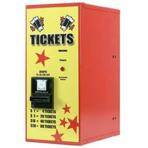 AC115 Ticket Dispenser Rear Load-Vending-Amusement