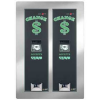 AC2221 Rear Load Dual Dollar Bill Changer