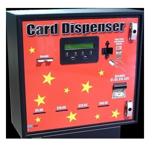 AC604 4 Bins - Front Load Cash/Credit - Card Dispenser