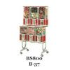 BS 800 / B-37 Rack For Beaver Bulk Vending Machines