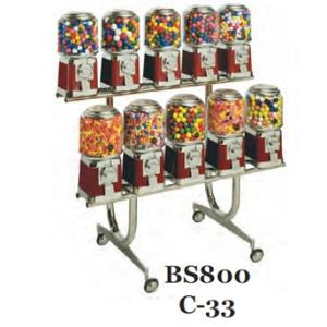 BS 800/C-33 Rack For Beaver Bulk Vending Machines
