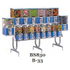 BS 830/B-33 Island Rack For Beaver Bulk Machine