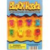 BlockHeadz Figurines - 1.1 Inch Acorn-Shaped Capsules
