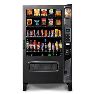 Chill Center 5 Wide Snack-Beverage Refrigerated Combo