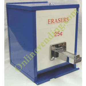 Coin Operated Manual Pencil Eraser Vending Dispenser