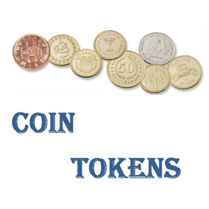 Coin Tokens-Vending-Amusement-Laundry-Car Wash