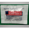 Cold Tabs ll - 2 Tablets Per Packet -144 Packets/Box