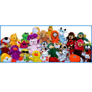 Small Plush Licensed 180 Piece 5% Licensed Kit Mix