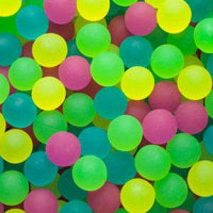 Frosty Bouncy Balls 1.02'' / 27mm 250 Count