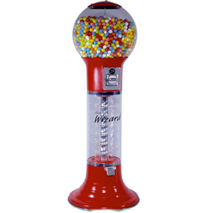 "Original 4' 10"" Wizard Spiral Bulk Vending Machine"