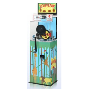 Penny Or Quarter-Press Machine Squasher With Custom Themed Graphics