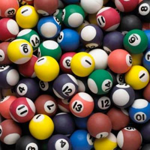 Pool Bouncy Balls 1.02'' / 27mm 250 Count