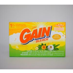 Ultra Gain Bleach 1 Load Ultra Laundry Detergent