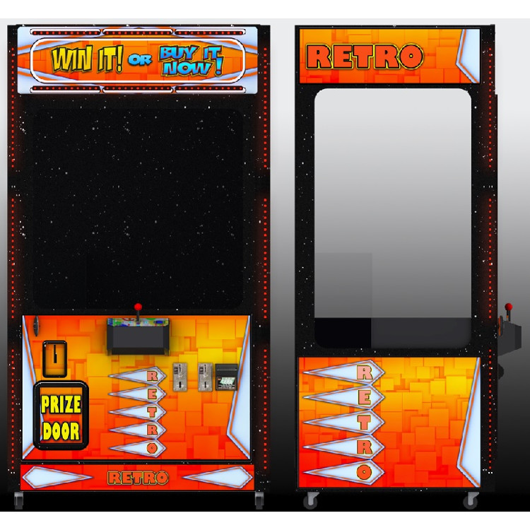 RETRO-Crane Merchandiser-Skill Claw Impulse Machine