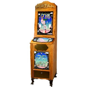 Antique Style Omar The Mystic Impulse Novelty Game