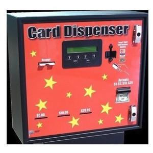 AC603 3-Bin Front Load Cash-Credit-Card Dispenser