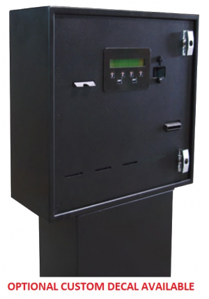 AC 603 Black Card Dispenser