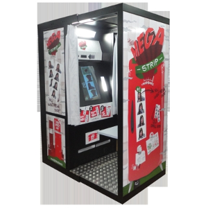 The Mega Strip Touch Screen Photo Booth