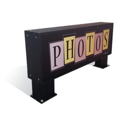 Multi Color Letters-Photos