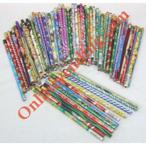 Assorted #2 Pencils In Mixed Colors-Designs