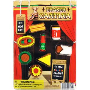 Eraser Cantina - 1.1 Inch Acorn-Shaped Capsules