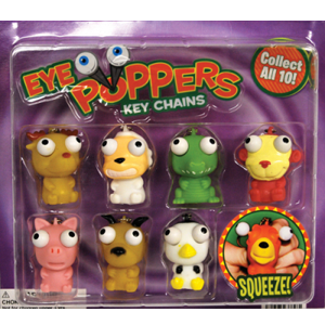Eye Poppers - 2.2 Inch Acorn-Shaped Capsules