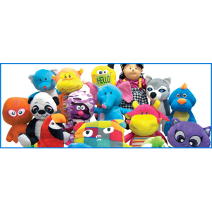 Jumbo Generic 75 Piece Plush Kit Non-Licensed