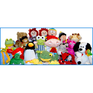 Jumbo Plush Licensed 75 Piece 50% Licensed Kit Mix