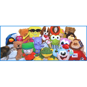 Jumbo Plush Licensed 75 Piece 20% Licensed Kit Mix