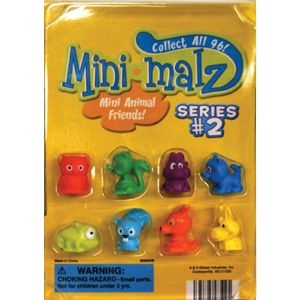 Mini-Malz Figurines, Series 2 - 1.1 Inch Capsules