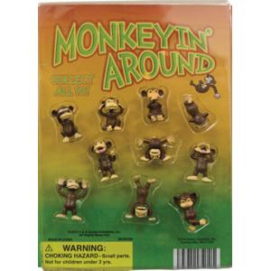Monkeyin' Around Figurines - 1.1 Inch Capsules