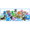 Small Plush Licensed 180 Piece 33% Licensed Kit Mix