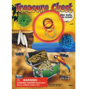 Treasure Chest - 1.1 Inch Acorn-Shaped Capsules