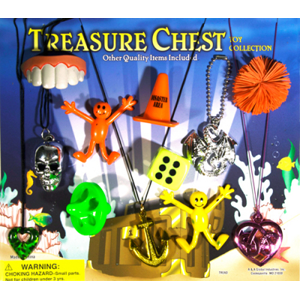 Treasure Chest - 2.2 Inch Acorn-Shaped Toy Capsules
