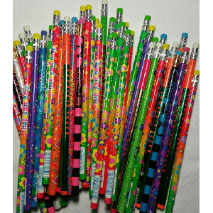 Happy Birthday Big Variety Assorted #2 Wood Pencils