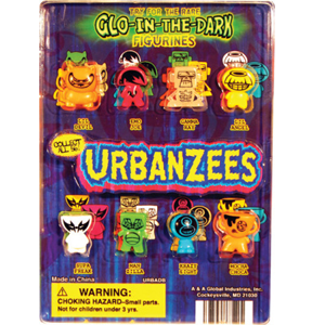 Urbanzees Figurines - 1.1 Inch Acorn-Shaped Capsules
