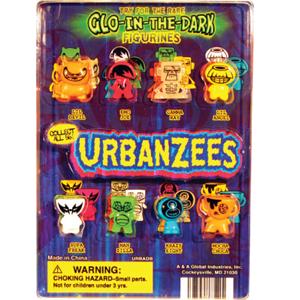 Urbanzees Figurines - 1.1 Inch Acorn-Shaped Capsules