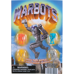 Warbots Figurines - 1.1 Inch Acorn-Shaped Capsules
