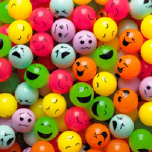 Printed Face Bouncy Balls* 1.02'' / 27mm 250 Count