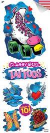 Classy Girls Tattoos 10 - Vending Tattoo Refill