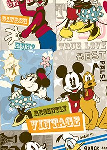Vintage Mickey Mouse Stickers-Vending Refill
