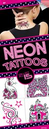 Electric Neon #3 Tattoos - Vending Tattoo Refill